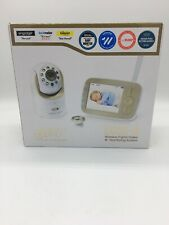 "Infant Optics Dxr-8, Video Baby Monitor with 3.5"" Screen - Gold/White Brand New"