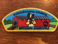 Mint 2017 JSP Susquehanna Council