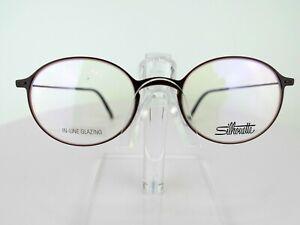 Silhouette SPX Urban NEO 2908 6440 (Brown) 48 x 20 TITANIUM Eyeglass Frames