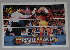 The Ultimate Warrior & Rick Rude 1990 Classic Wrestlemania V 5 WWF Card #112 WWE