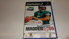 PlayStation 2 PS 2 madden nfl 06