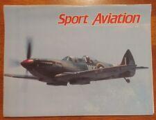 Sport Aviation Magazine July 1990 spitfire built for two spacewalker II