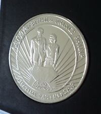 2011 South Georgia & Sandwich Islands Lifetime Partnership £2 Coin (BU) in Case