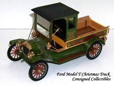Franklin Mint FORD MODEL T CHRISTMAS TRUCK LTD.ED. 1/16 NEW!