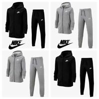 Nike Boys Tracksuit Kids Fleece Tracksuits Bottoms Hoodie Joggers Sweatpants