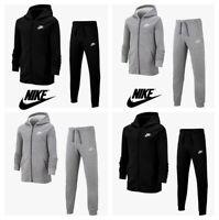 Nike Boys Tracksuit Kids Fleece Tracksuits Bottoms Hoodie Joggers Sweatpants
