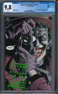 BATMAN:THE KILLING JOKE #nn CGC 9.8 1988 (W/P) 1ST EDITION. AUCTION