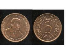 MAURICE  5 cents 2010  ( bis )