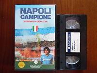 Napoli campione - Il trionfo di una città! - VHS ed. Domovideo rara