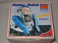 VINTAGE RC MODELL VON - NIKKO - ROBBY ROBOT - TOY ROBOTER - OVP