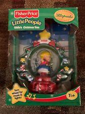 Fisher Price Little People 1999 Eddie's Christmas Tree Ornament New NIB