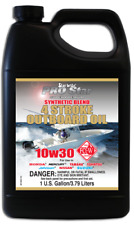 Starbrite Super Premium Synthetic Blend 4 Stroke Oil 10w-30 1 US Gallon.