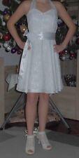 Konfirmationskleid Komunionskleid Hochzeit mit Bolero und Schuhe Größe 152