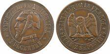 Napoléon III, module 2 francs satirique, guerre 1870, chouette monétaire -  8