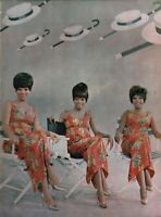 THE SUPREMES 1966 YOU CAN'T HURRY LOVE TOUR PROGRAM BOOK / DIANA ROSS / NM 2 MNT