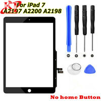 """New Black Touch Screen Glass Digitizer Replacement For iPad 7 2019 7th Gen 10.2"""""""