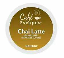 Cafe Escapes Chai Latte 72 count Keurig K cups FREE SHIPPING