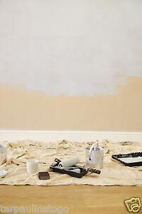 Cotton Twill Dust Sheets Large & Stairway Decorating Professional Cover Quality