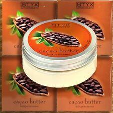 Styx Cacao Butter Körpercreme 200ml Naturkosmetik Bio Vegan Kakao Schokolade
