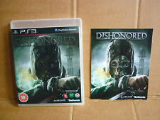 Dishonoured, PS3 PAL European 2, BLES01674, with booklet.
