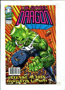 SAVAGE DRAGON #1 - FIRST PRINT (9.2) 1992
