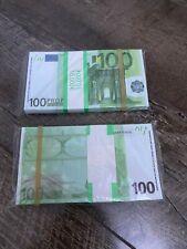Movies money - 100 x 100 euros - billets euro