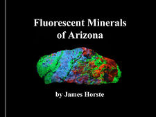 Set129 Set of 7 Fluorescent Mineral Books