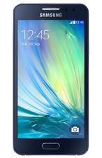 Samsung GALAXY a3 SMARTPHONE Midnight Black merce nuova commercianti sm-a300f