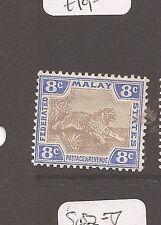 Malaya FMS Tiger SG 41b MOG (2das)