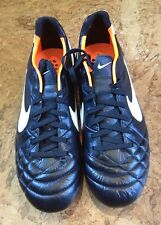 NEW Nike Tiempo Legend SG Soccer Cleat BLACK Men's 6.5 Nike 454330-018