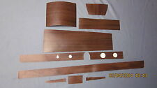 1966 impala SS dash and console wood grain trim for automatic models