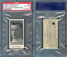 1923 V128 PAULIN'S CANDY #51 HARRY TUCKWELL PSA 4