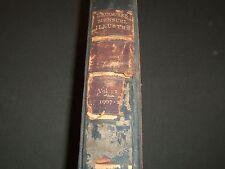 1907-1910 LAROUSSE MENSUEL ILLUSTRE FRENCH MAGAZINE BOUND VOLUME NO. 1 - R 650