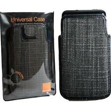 Orange Tweed Smartphone teléfono Funda Protectora Bolsa Para Iphone 4s 5s 5c Htc One Mini