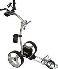 Elektro Golf Trolley PGE 3.1, AKKU12V33Ah,Neues Design, silber, Vollausstattung