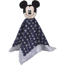 "Disney Mickey  Mouse 12""x12"" Lovey Security Blanket - Shower gift - Baby Boy"