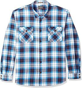 Quiksilver Men's Wade Creek Flannel Shirt, XL