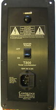 A pair of Cambridge Soundworks T300 transformer Plates only