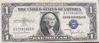 USA 1 Dollar 1935 D Silver Certificate One Banknote Schein Gute Erhaltung #21991