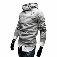 Winter Men Warm Long Sleeve Hoodies Hooded Sweatshirt Tops Jacket Coat Outwear