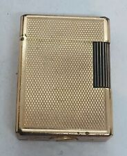 St DuPont Paris French Yellow Gold Plated Lighter