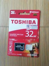 Toshiba  Micro SDHC Uhs I Card