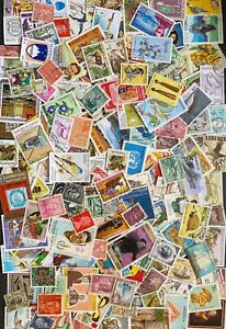 Collection of 150 different stamps from 150 different Countries