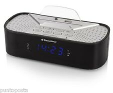 Audiosonic Cl-1463 Radiosveglia con Bluetooth Nero