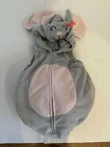 Mouse infant baby Halloween plush hooded Costume 18 Months Carters