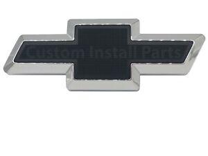 BLACK Front Grille Bowtie Emblem Decal Direct Replacement For GM Part #10357171