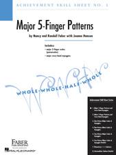 Achievement Skill Sheet No. 1: Major 5-Finger Patterns