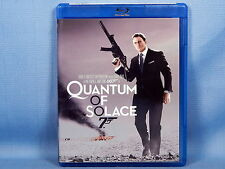 Quantum of Solace (Blu-ray Disc, 2009, Widescreen) NEW w/o Shrink Wrap