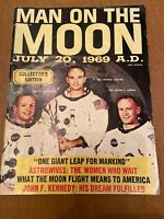 Man On The Moon Collectors Edition Magazine July 20th 1969