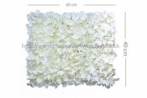 24PCS Wedding Flower Wall Backdrop Panels for Sale 60cmx40cm-Ivory